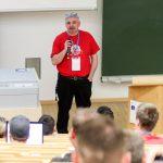 eröffnete das WordCamp Nürnberg 2016 – Stefan Kremer
