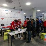 Anmeldestation für die WordCamp Nürnberg 2016 TeilnehmerInnen