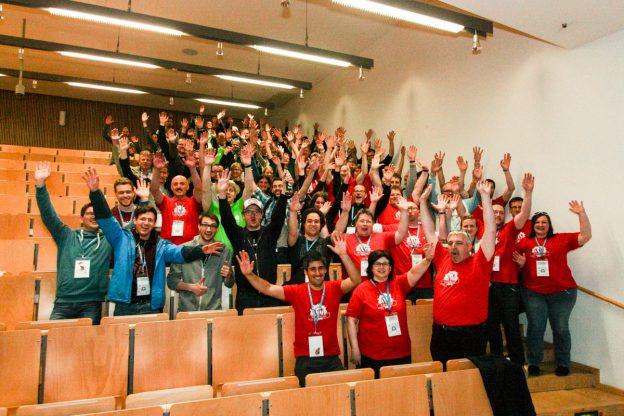 Jubel – es ist geschafft, das WordCamp Nürnberg 2016 ist zu Ende