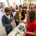freundlicher Empfang beim WordCamp Nürnberg 2016